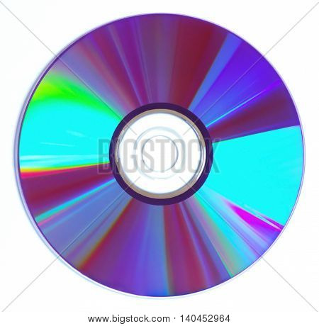 DVD CD, isolated on White background with clipping path