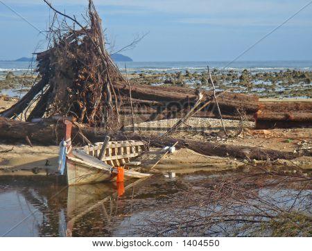 Tsunami Zerstörung