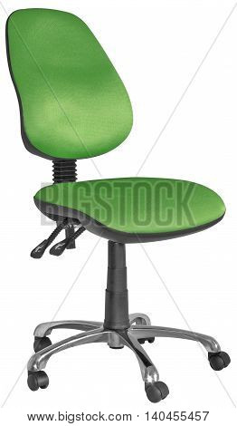 Green And Black Office Swivel Chairs