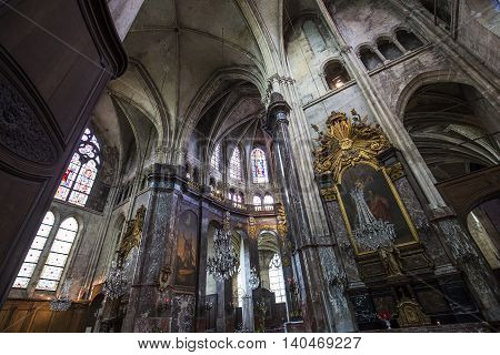 Saint Jacques Church, Compiegne, Oise, France