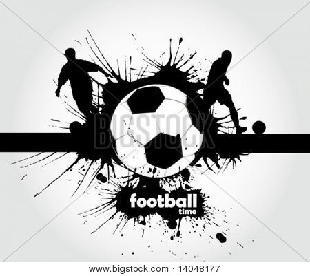 football sign - page header