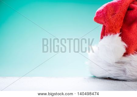 Santa Red Hat With Copy Space