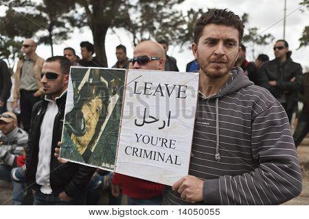 libyschen Botschaft protest