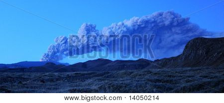 Iceland volcano ash cloud