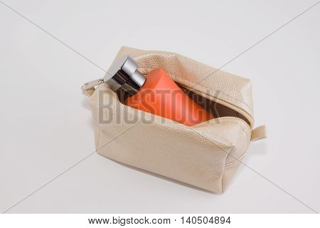 Women cosmetic bag for scissors deodorant soaps and other women's stuff
