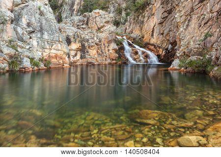 Parida Waterfall (Cachoeira da Parida) - Serra da Canastra National Park - Brazil