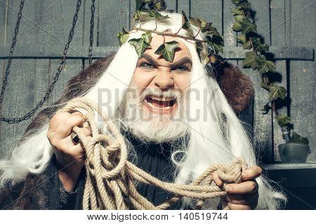 Zeus With Rope