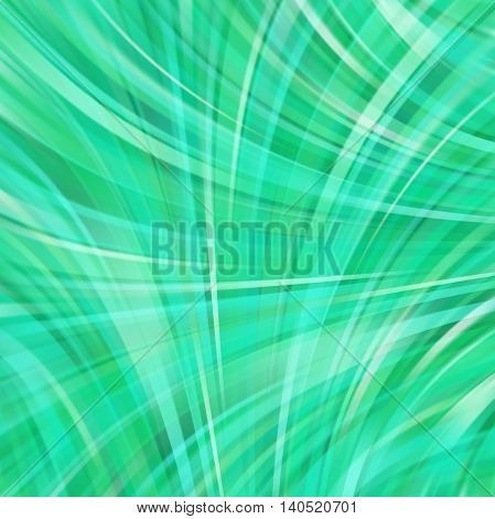 Abstract Technology Background Vector Wallpaper. Stock Illustration. Green Color.