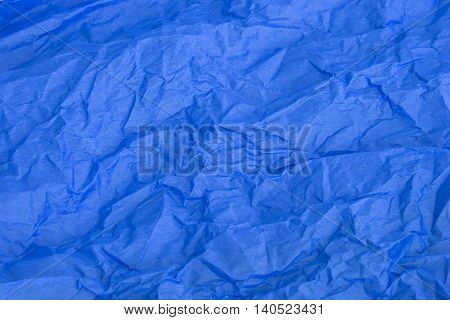This is a photograph of Blue tissue paper background