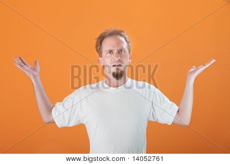 Frustrated Man