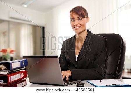 Businesswoman In The Office