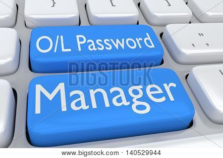 Online Password Manager Concept