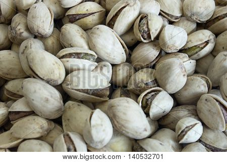 This is a photograph of Pistachio nuts