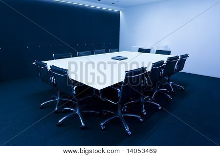 Moderna sala de reuniões