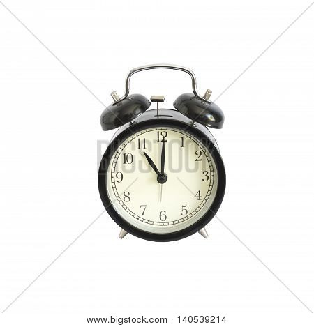 Alarm clock setting at 11 AM or PM. Abstract time.