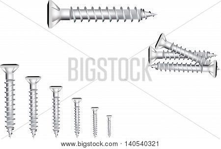 wood screw steel screw for wood for carpenters to join and weld