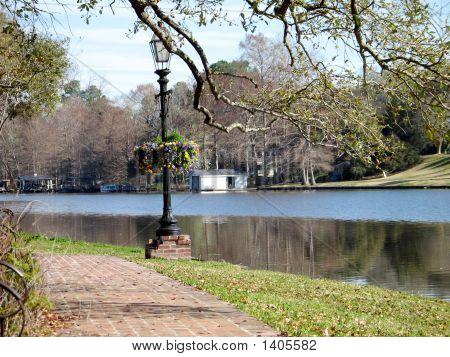 Riverwalk Along Crane River
