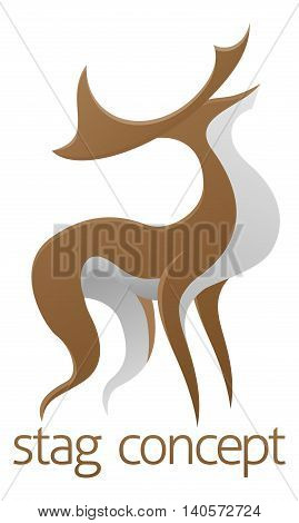 Deer Stag Design