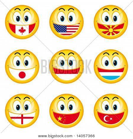 Smileys Flaggen