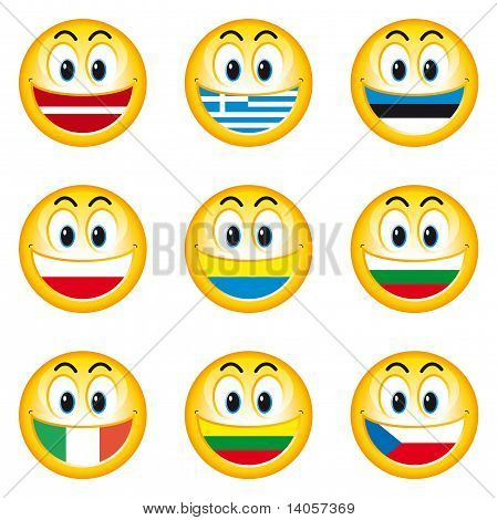 Smileys flags