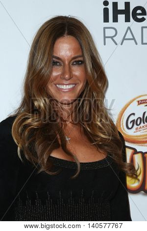 NEW YORK-DEC 12: Kelly Bensimon attends Z100's Jingle Ball 2014 at Madison Square Garden on December 12, 2014 in New York City.