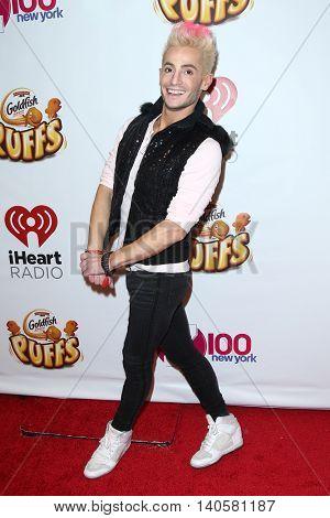 NEW YORK-DEC 12: Frankie Grande attends Z100's Jingle Ball 2014 at Madison Square Garden on December 12, 2014 in New York City.