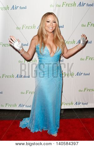 NEW YORK-MAY 29: Recording artist and honoree Mariah Carey attends the Fresh Air Fund Spring Gala Salute at Pier Sixty at Chelsea Piers on May 29, 2014 in New York City.