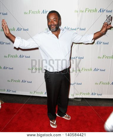 NEW YORK-MAY 29: Director Lee Daniels attends the Fresh Air Fund Spring Gala Salute at Pier Sixty at Chelsea Piers on May 29, 2014 in New York City.