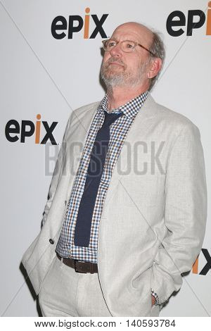 LOS ANGELES - JUL 30:  Richard Jenkins at the EPIX Television Critics Association Tour Photo Line at the Beverly Hilton Hotel on July 30, 2016 in Beverly Hills, CA
