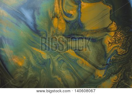 Ink in water. Abstract background. Ink swirling in water. Colorful ink in water.