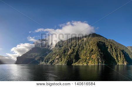 Mountains In The Milford Sound
