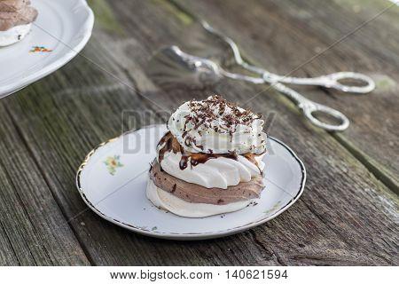 Traditional Czech sweet dessert
