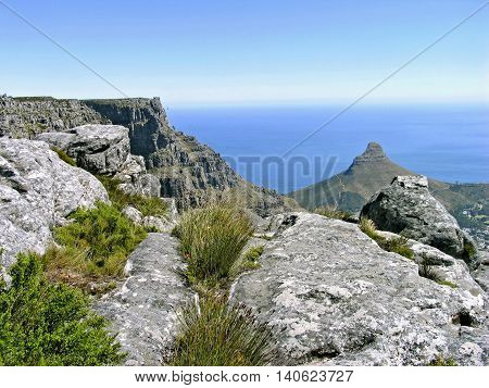 From Top Of Table Mountain, Cape Town, South Africa 02c