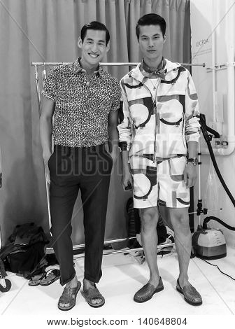 Nautica - Men Spring Summer 2017 Collection - Backstage