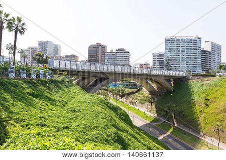 Villena Rey Bridge, Miraflores Lima