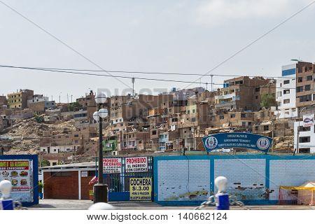 Living In Pachacamac, Lima