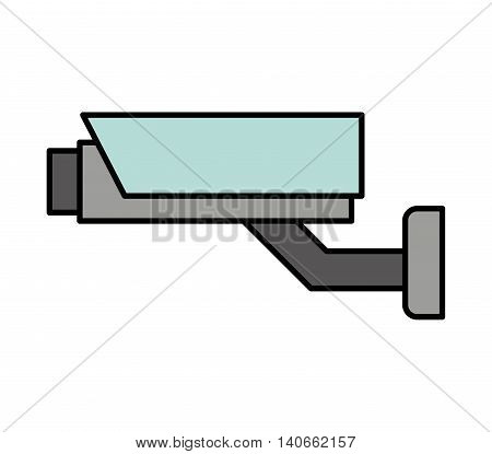 security cam cctv system icon vector isolated design