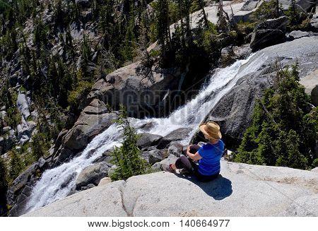 Enchantment Lakes basin Leavenworth Seattle Washington state USA.