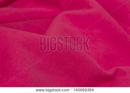 This is a photograph of Fuchsia Pink fabric background