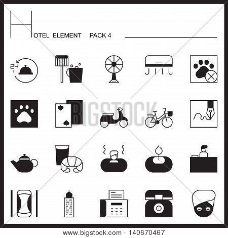Airport Element Line Icon Set 4.Mono pack.Graphic vector logo set.Pictogram design.