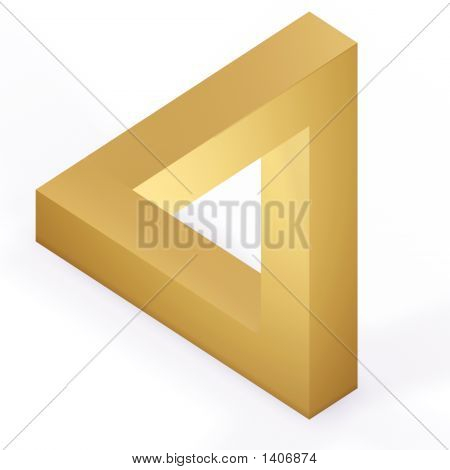 Optical Illustion Triangle
