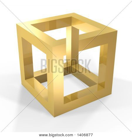 Optical Illustion Cube