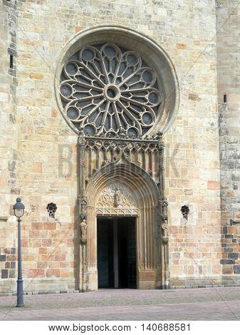 Church Door And Window