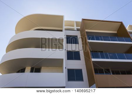 Low Angle View Of A Modern Building