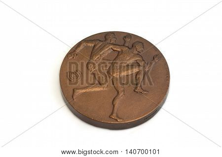 Helsinki 1983 Athletics World Championships Participation Medal, Obverse. Kouvola, Finland 21.07.201