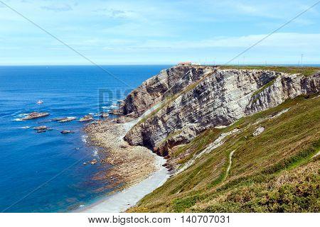 Cape Vidio Coastline (asturian Coast, Spain).