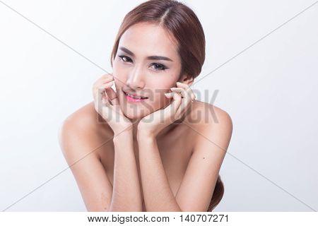 Asian Young Female No Retouching- For Beauty Retouching Practice