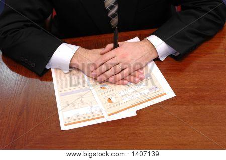 Businessman At Meeting  2