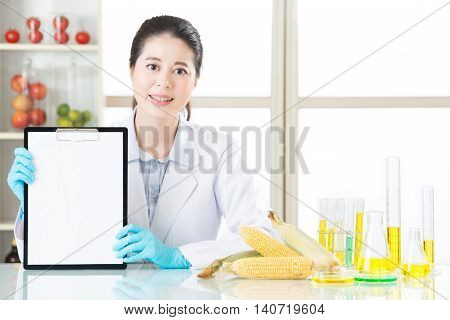 Recording Genetic Modification Data On Blank Clipboard