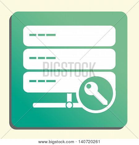 Server Access Icon In Vector Format. Premium Quality Server Access Symbol. Web Graphic Server Access